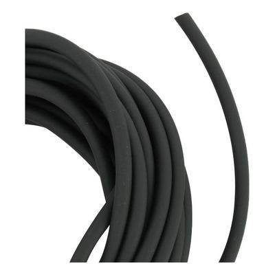 Durite souple noir de mise à l'air ou dépression 4x7mm 10m