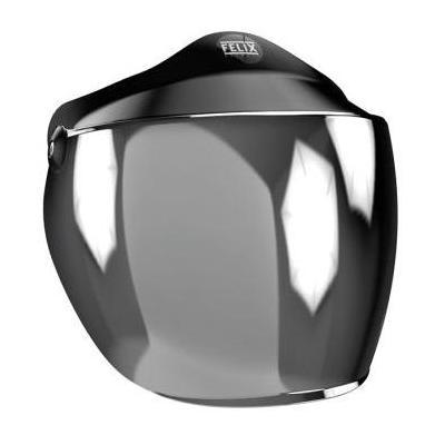 Écran long Felix Motocyclette pour casque ST520 argent chromé