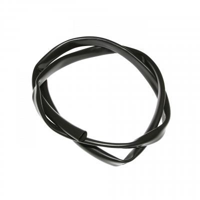 Gaine de faisceau électrique 10.5x12mm 1m noir