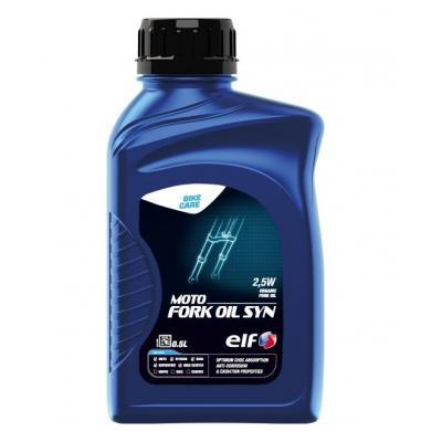 Huile de fourche Moto Fork Oil Syn ELF 100% synthèse 2,5w