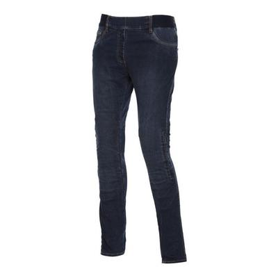 Jeans moto femme Esquad Jade Armalith® raw bleu