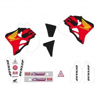 Kit déco Team Honda 92 Tecnosel Honda CR 250R 95-96