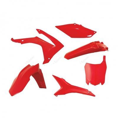 Kit plastique RTech Honda CRF 250R 14-17 rouge (rouge CR)