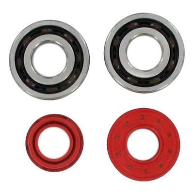 Kit roulements vilebrequin TPI 6204 TVH C4 et joints SPI rouge pour MBK Booster / Nitro / BW'S