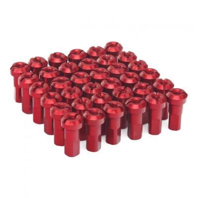 Kit têtes de rayon universel anodisées ART rouge (36 pièces)