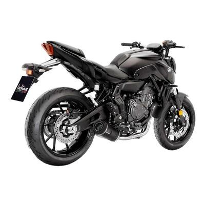 Ligne complète catalysée Leovince LV One inox noir Yamaha MT-07 2021