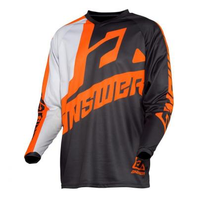 Maillot cross Answer Syncron Voyd charcoal/gris/orange