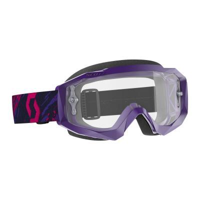 Masque cross Scott Hustle X MX violet/rose – écran clair