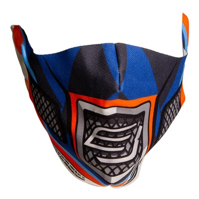 Masque de protection Bud Racing Race Orange/blue