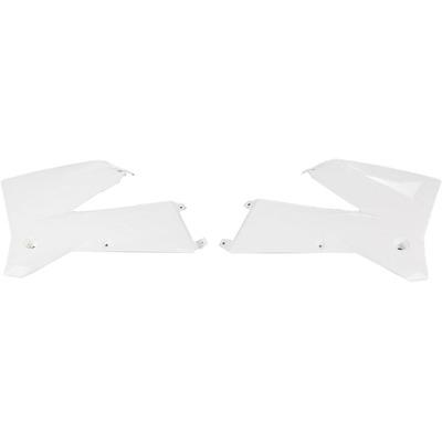 Ouïes de radiateur UFO KTM 125 EXC 05-07 blanc