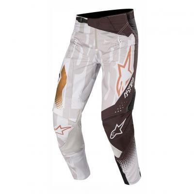 Pantalon cross Alpinestars Techstar Factory Metal gris/noir/copper