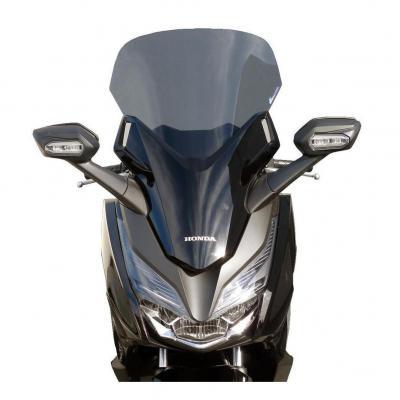 Pare-brise Bullster haute protection 59,5 cm fumé gris Honda Forza 125 18-19