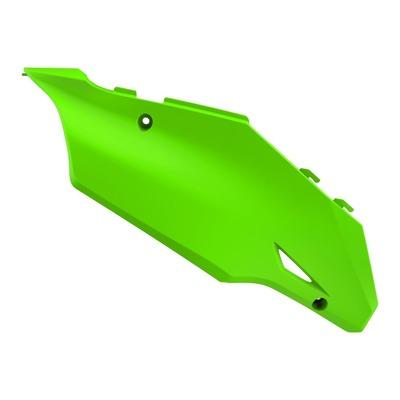 Plaques latérales Polisport Kawasaki 125 KX 03-08 vert citron