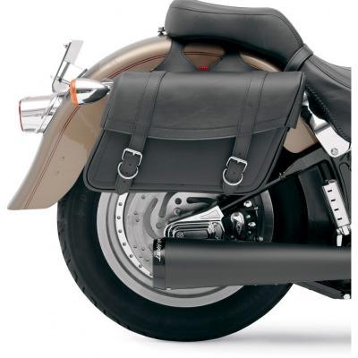 Sacoches latérales Saddlemen Highwayman Slant Style Drifter Large noires