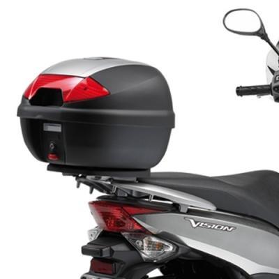Support spécifique Kappa pour top case Monlock Honda 50 Vision 11-18