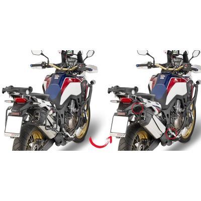 Supports à liaison rapide pour valises latérales Givi Honda CRF 1000 africa twin