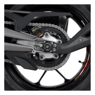 Tampons de bras oscillant R&G Racing noir Aprilia RSV4 Factory 09-14
