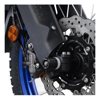 Tampons de protection de fourche R&G Racing noir Yamaha Ténéré 700 18-20