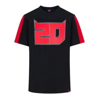 Tee-shirt Fabio Quartararo 20 noir/rouge