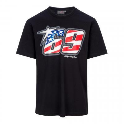 Tee-shirt Nicky Hayden 69 noir