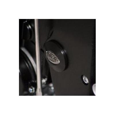 Insert de cadre gauche R&G Racing noir Suzuki GSX-R 750 06-16
