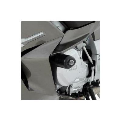 Tampons de protection R&G Racing Aero noir Yamaha FJR 1300 13-15
