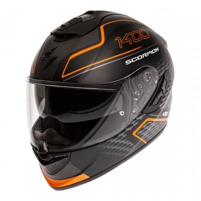 Casque intégral Scorpion Exo-1400 Air Galaxy orange mat
