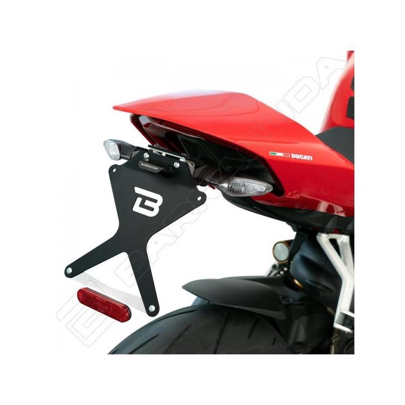 Support de plaque d'immatriculation Barracuda Ducati Streetfighter 1100 V4 20-21 avec clignotants or