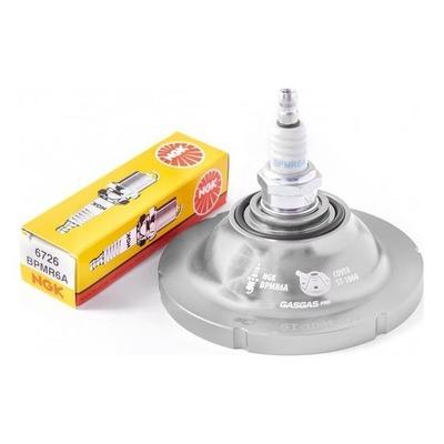 Dôme de culasse argent S3 compression standard pour Gas Gas TXT 250 GP