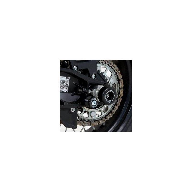 Tampons de bras oscillant R&G Racing noir KTM 1290 Super Adventure 15-18