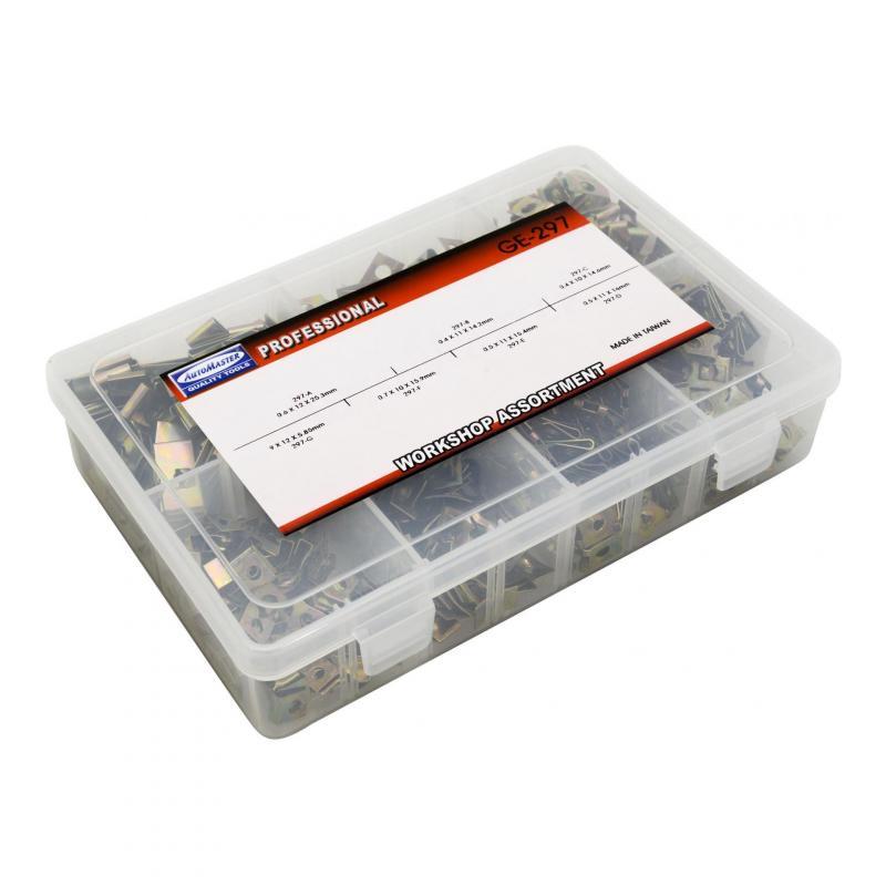 Assortiment agrafes pour vis de carrosserie (x700) - 1