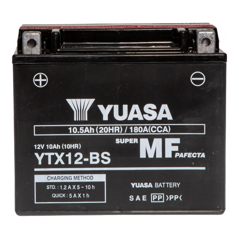 Batterie Yuasa YTX12-BS 12V 10Ah - 3
