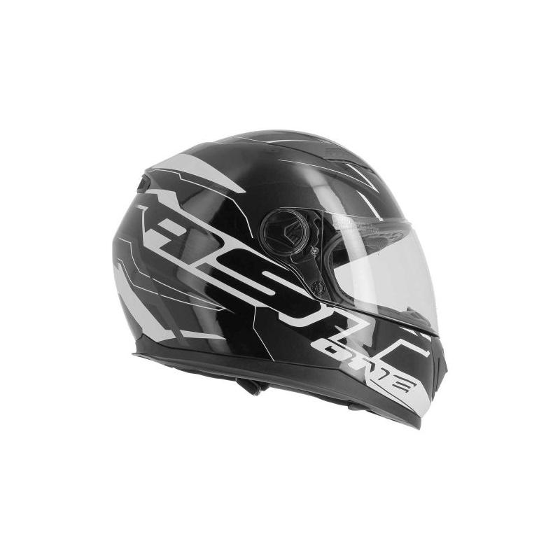 Casque intégral Astone GT2 AST noir/blanc - 5