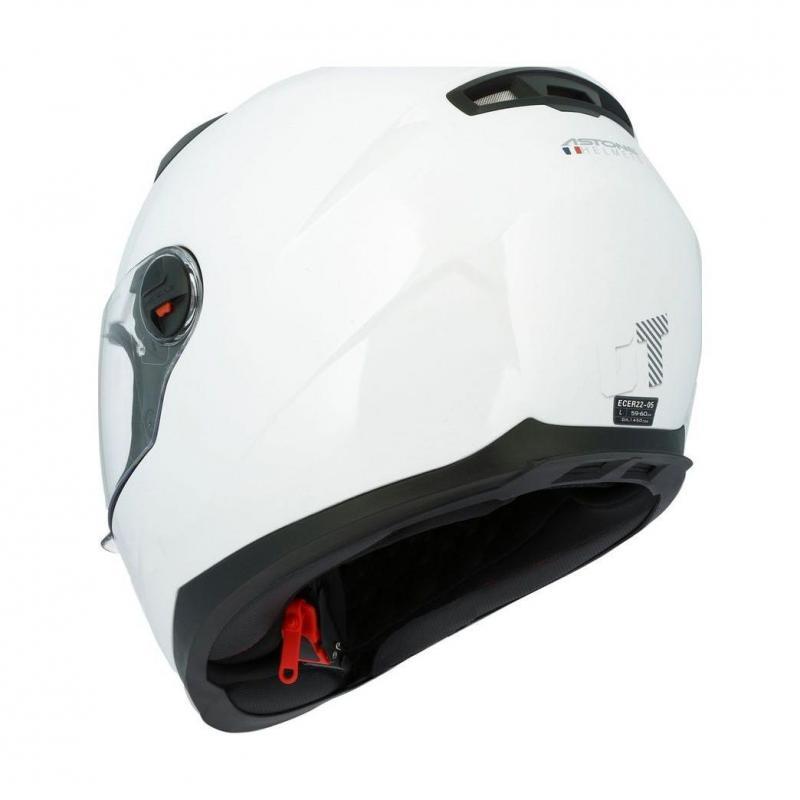 Casque intégral Astone GT2 Monocolor blanc - 1