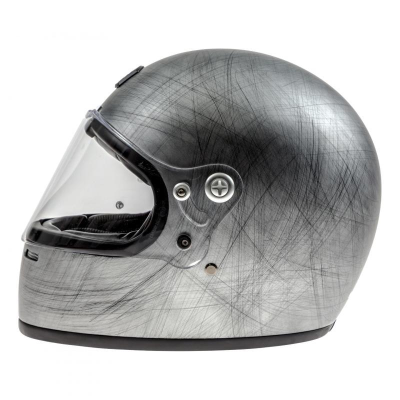 Casque intégral Astone VINTAGE GT RETRO mat gris - 1