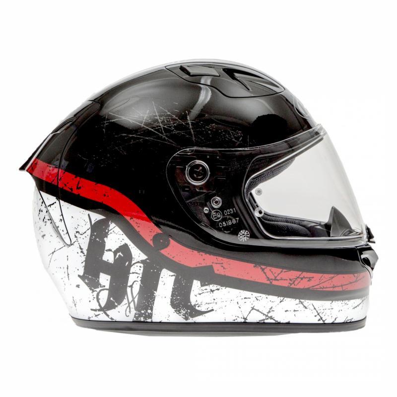 Casque intégral HJC FG-ST Labi noir/blanc/rouge - 2