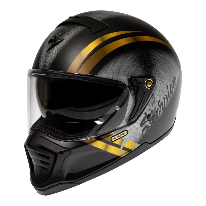Casque intégral Scorpion EXO-HX1 Mat noir/or