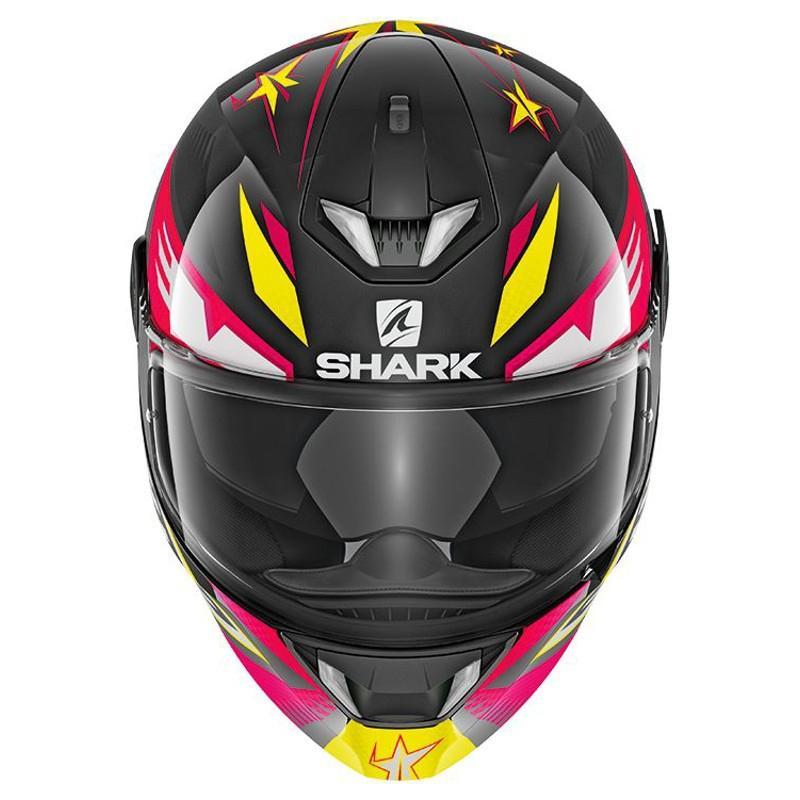 Casque intégral Shark SKWAL 2 DRAGHAL noir/violet/jaune - 2
