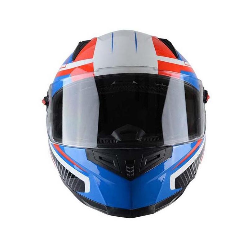 Casque intégral Trendy T-501 Enkel bleu / blanc / rouge - 3