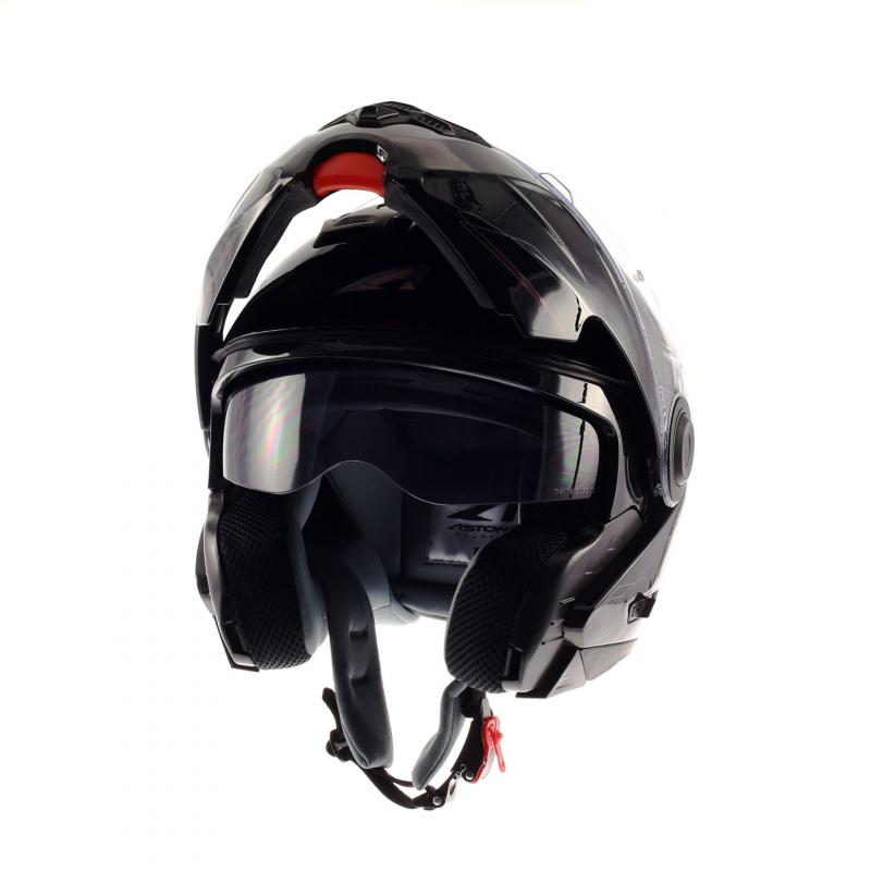 Casque Modulable Astone Rt800 Solid Exclusive noir gloss - 2