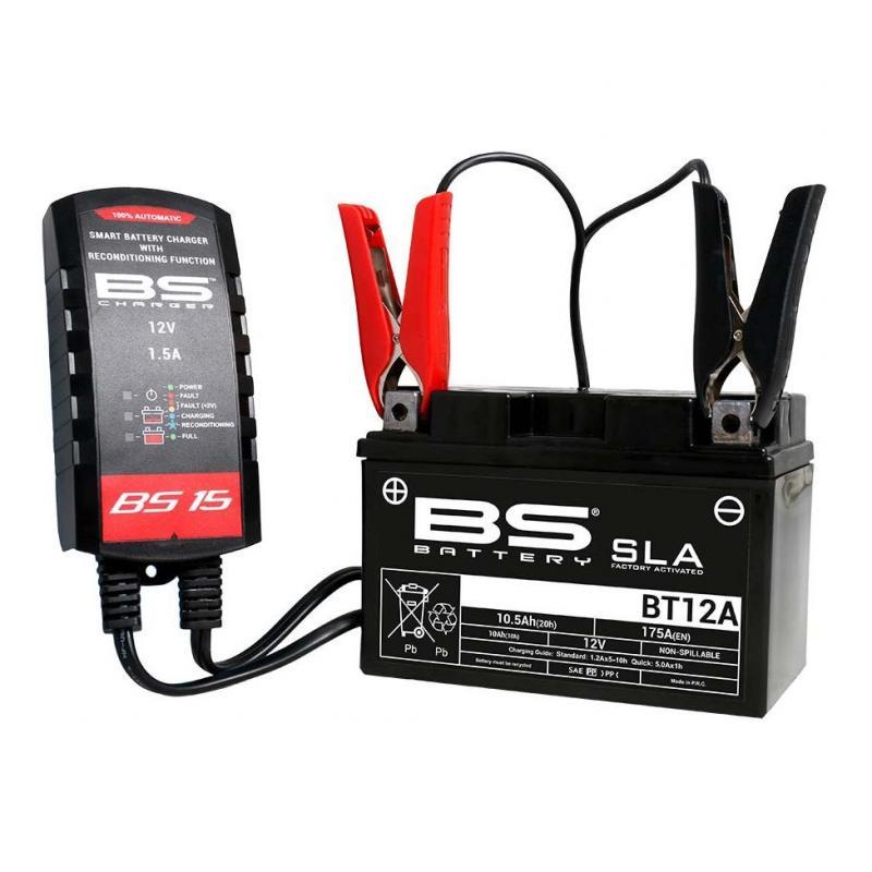 Chargeur de batterie intelligent BS Battery BS15 - 4