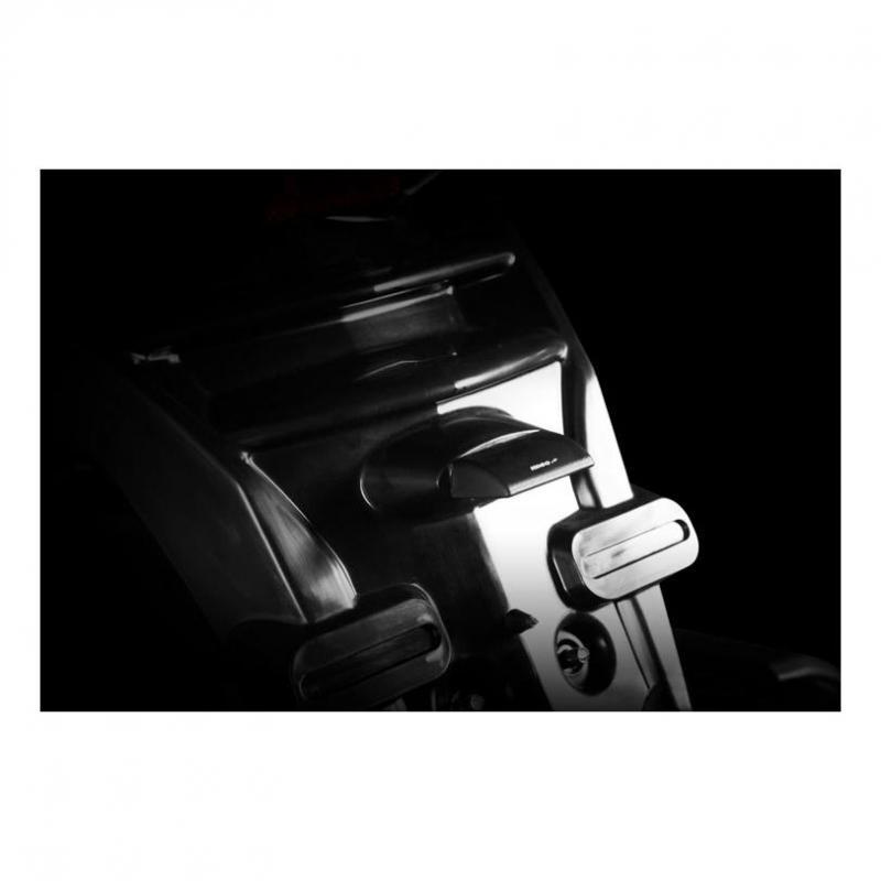Éclairage de plaque d'immatriculation Koso LED Blade noir - 1