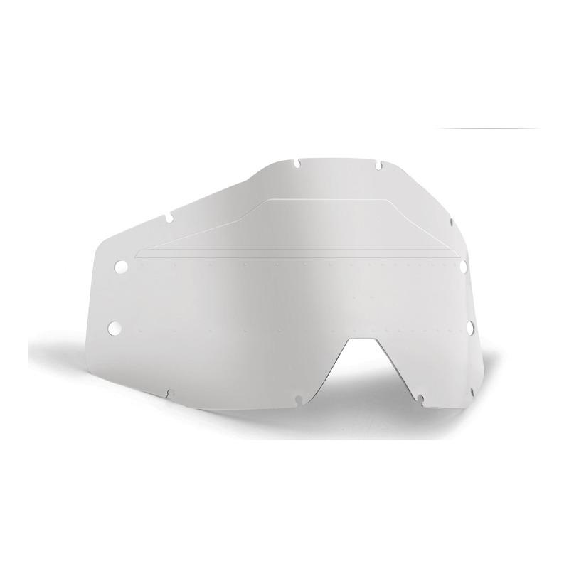 Écran enfant de remplacement FMF Vision pour masque PowerBomb Roll-off clair