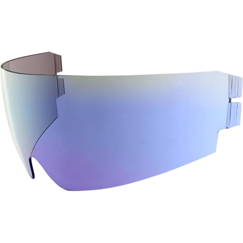 Écran rétractable Icon Dropshield iridium pour casque Alliance GT/Airflite/Airform bleu