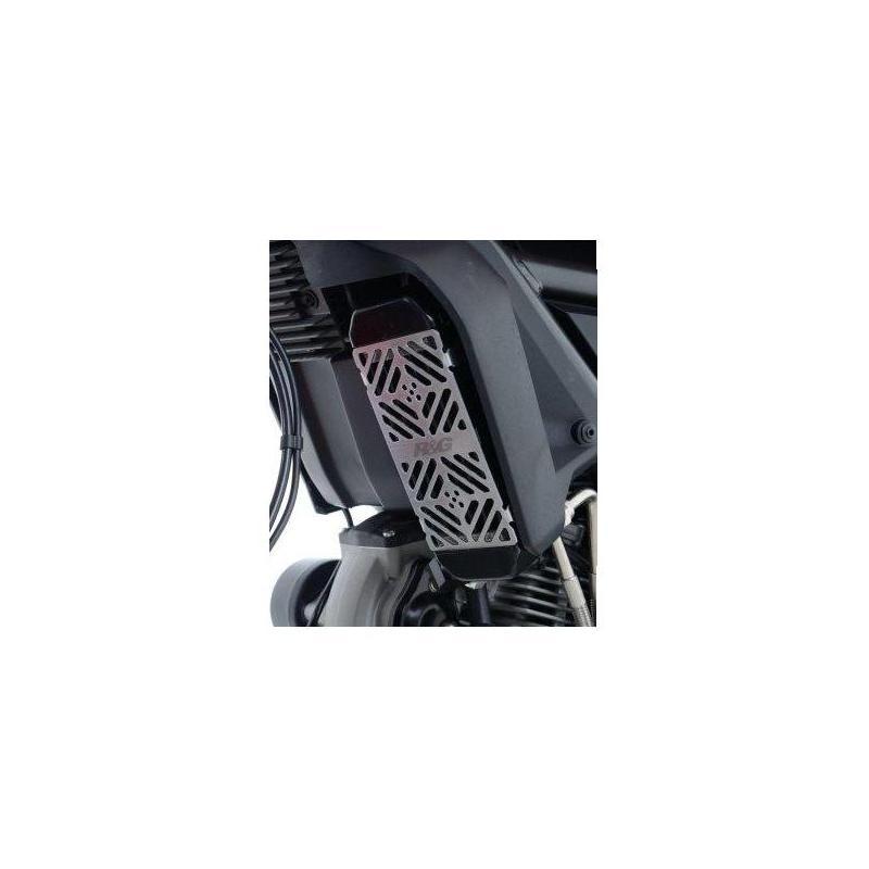Grille de protection de radiateur d'huile R&G Racing Ducati Scrambler 800 15-18