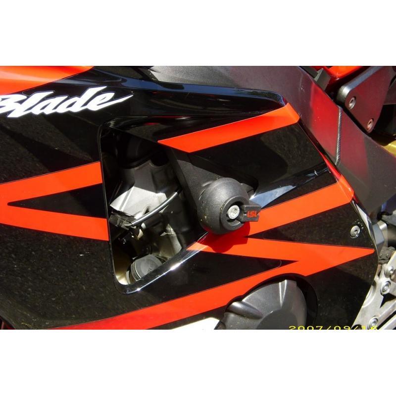 Kit fixation tampon de protection LSL Honda CBR 900 RR 00-04