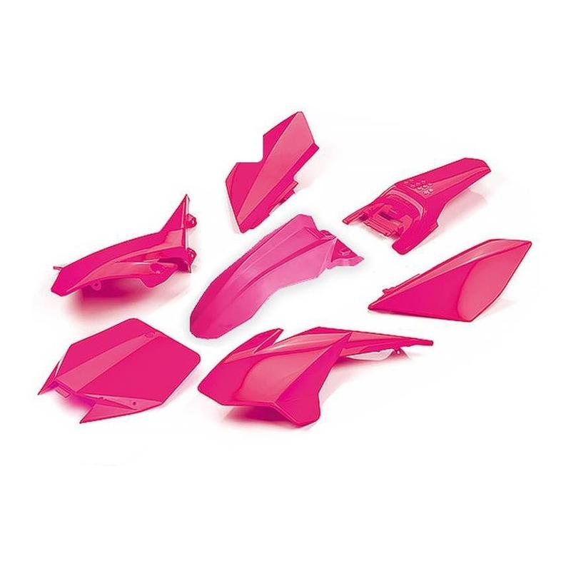 Kit plastique complet YCF 88 Lite à partir 2020 rose
