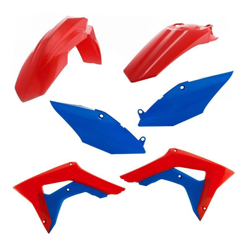 Kit plastiques Acerbis Honda CRF 450R 19-20 rouge/bleu