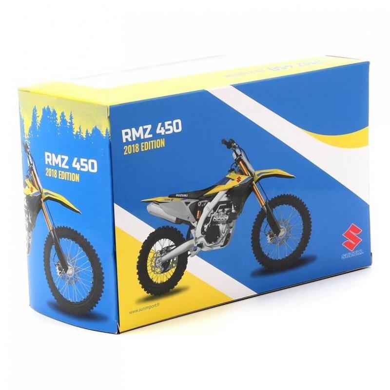 Miniature Suzuki RM-Z450 2018 1:12 - 3