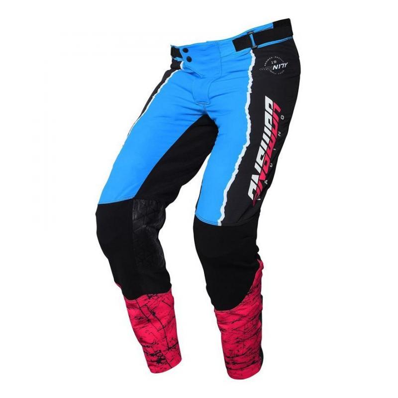 Pantalon cross Answer Trinity pro Glow Hyper bleu/rose/noir